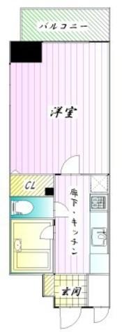 プライムアーバン飯田橋 / 1404 部屋画像1