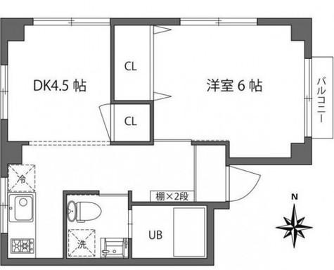 グランバリュー麻布十番 / 3階 部屋画像1
