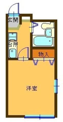 代田橋 5分アパート / 2階 部屋画像1