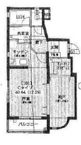 コムフォート西五反田 / 1階 部屋画像1