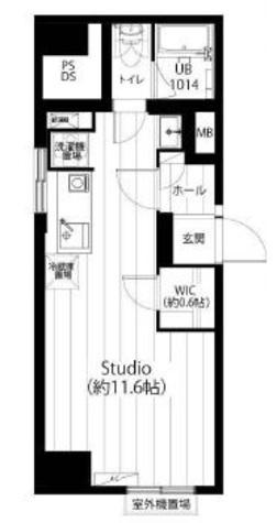 麻布霞町マンション / 6階 部屋画像1