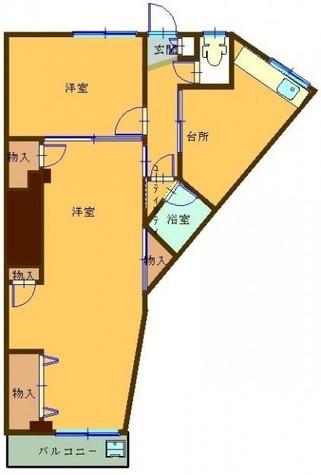 でがしらやまビル / 2階 部屋画像1