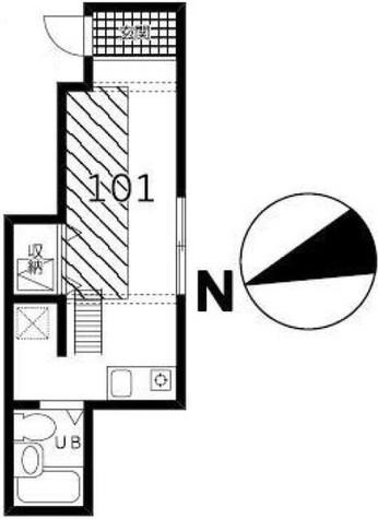 ハウス&パーク四谷若葉 / 1階 部屋画像1