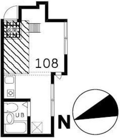 ハウス&パーク四谷若葉 / 108 部屋画像1