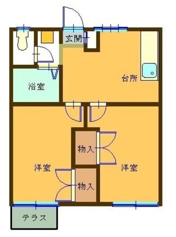 シャレー渋谷 / 103 部屋画像1