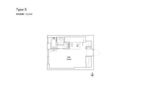 コートモデリア赤坂895 / 408 部屋画像1