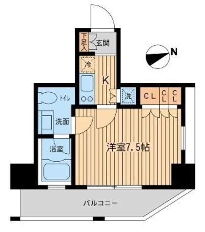 レジデンス大森(旧コンフォリア大森) / 4階 部屋画像1