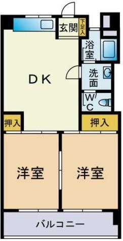 セイショウ・ヴィレッジ / 3階 部屋画像1