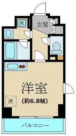プレール・ドゥーク新宿御苑 / 2階 部屋画像1