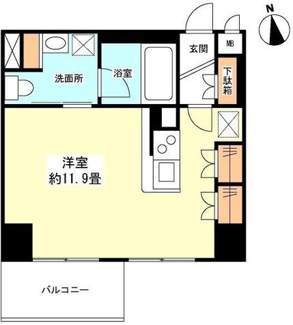 スペーシア新宿 / 1304 部屋画像1