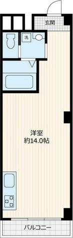 秀和新宿番衆町レジデンス / 6階 部屋画像1