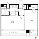 YOTSUYA DUPLEX D-R / 602 部屋画像1
