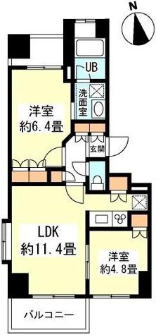 スペーシア新宿 / 13階 部屋画像1