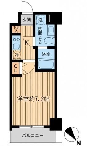 レジディア本厚木 / 503 部屋画像1