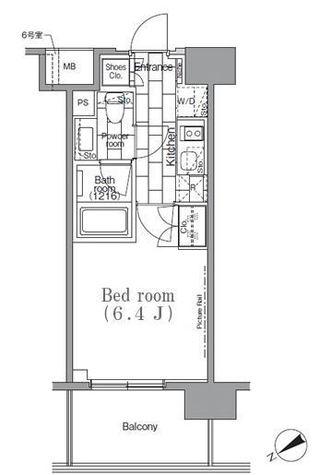 パークハビオ目黒リバーサイド / 1006 部屋画像1
