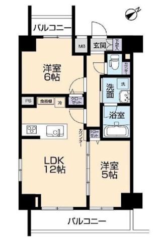 田町 19分マンション / 9階 部屋画像1