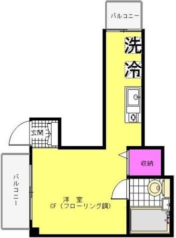 モモス・大京町 / 2階 部屋画像1