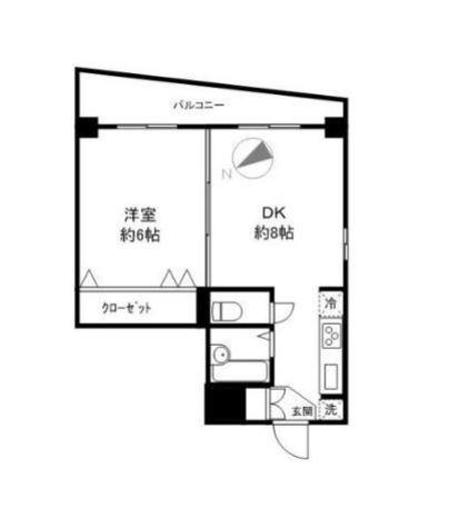 リエス大井仙台坂 / 4階 部屋画像1