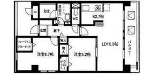 ユーナス / 4階 部屋画像1