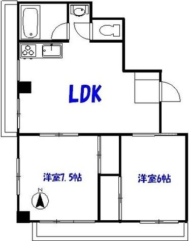 ニュー番衆ビル / 5階 部屋画像1