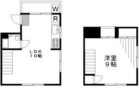 ヴィラ仲之町 / 3階 部屋画像1