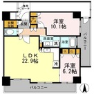 カスタリア日本橋高津 / 1103 部屋画像1
