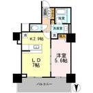 カスタリアタワー長堀橋 / 1003 部屋画像1