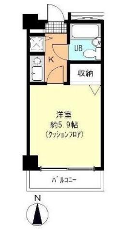 大井町タウンハウス / 604 部屋画像1