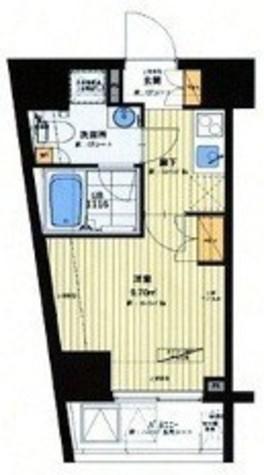 大井町 2分マンション / 4階 部屋画像1