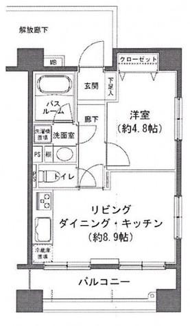 ヒルレジデンス大崎 / 1階 部屋画像1