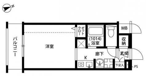 プレール学芸大学 / 3階 部屋画像1