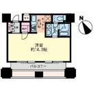 ルネ新宿御苑タワー / 1107 部屋画像1
