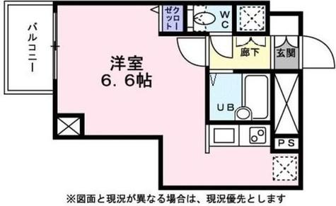 ラ・ステージ坂町 / 201 部屋画像1