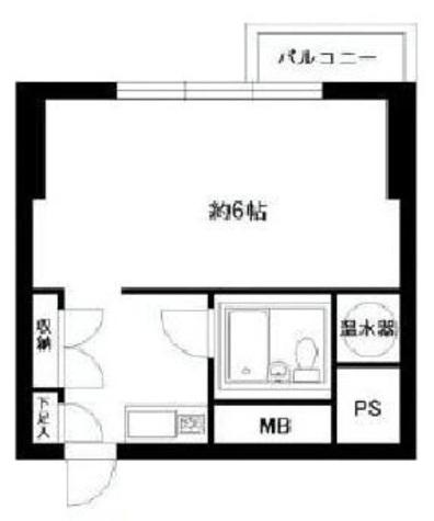 ライオンズプラザ恵比寿 / 3階 部屋画像1