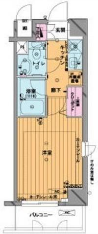 メゾン・ド・ヴィレ市ヶ谷 / 406 部屋画像1
