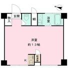 高輪パークマンション / 1f2 部屋画像1