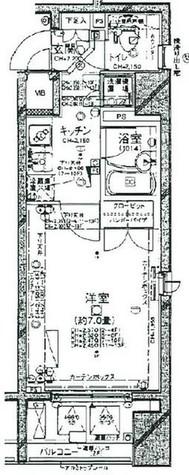 パレステュディオ新宿御苑駅前 / 206 部屋画像1