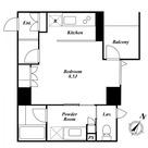 KDXレジデンス白金Ⅱ(旧ストーリア白金Ⅱ) / 206 部屋画像1
