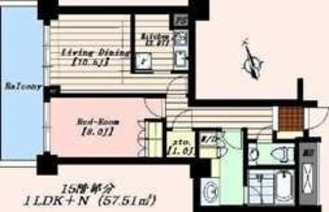 代官山アドレス・ザ・タワー / 16階 部屋画像1