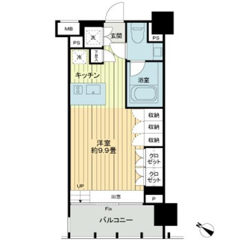 イクサージュ目黒 / 402 部屋画像1