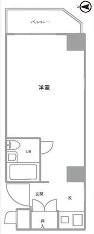 スカイコート渋谷 / 4階 部屋画像1