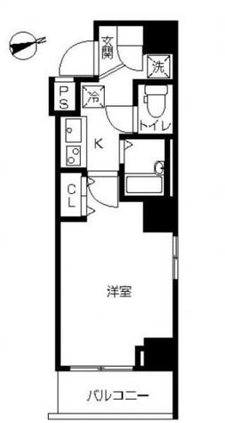 スカイコート品川南大井 / 3階 部屋画像1