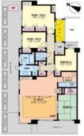朝日エンブレム八雲台 / 4F 部屋画像1