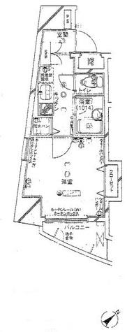 パークウェル五反田 / 9階 部屋画像1