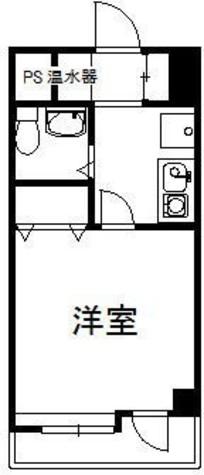 ダイアパレスステーションプラザ武蔵新城 / 308 部屋画像1
