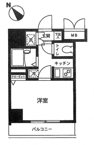 ドルチェ月島・弐番館 / 8階 部屋画像1