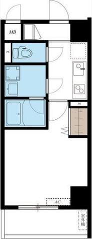 リブリ・Shirokane / 2階 部屋画像1