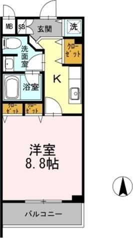 カスタリア堺筋本町 / 1003 部屋画像1