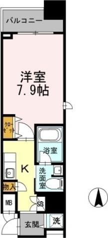 カスタリア堺筋本町 / 1105 部屋画像1