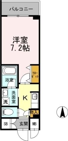 カスタリア堺筋本町 / 1106 部屋画像1